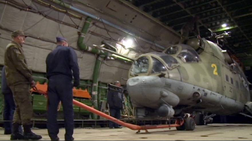 Три российских вертолета покинули авиабазу Хмеймим в Сирии