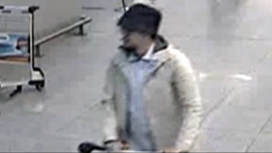 Belgian police release new footage of 'man in the hat'