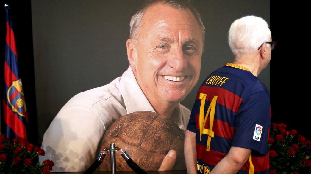 El mundo del fútbol se rinde a Johan Cruyff