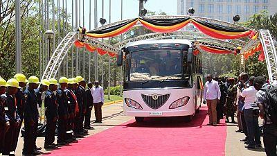 Uganda unveils Africa's first solar bus