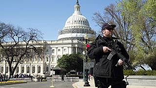 US: Gunman arrested after shooting police at the Capitol building