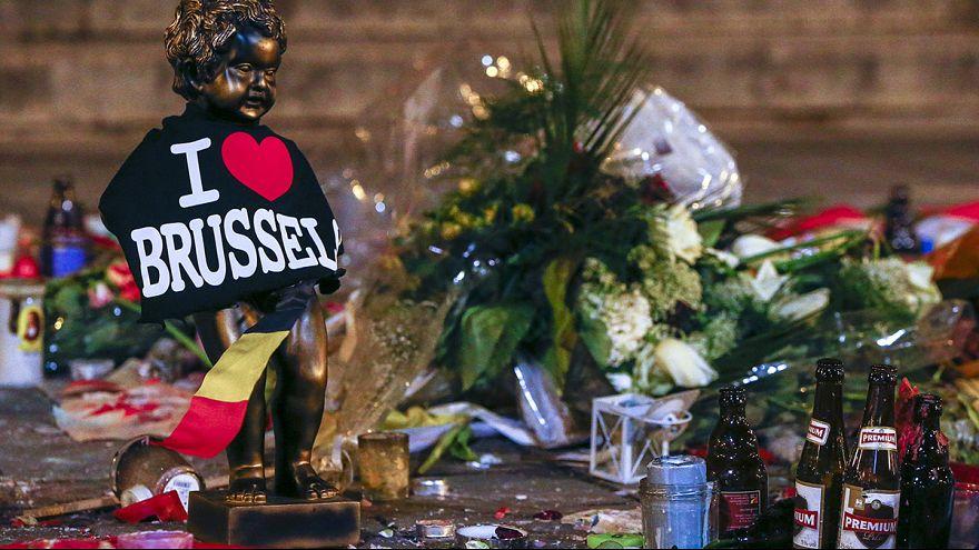 بروكسل: حداد على ضحايا التفجيرات وإطلاق سراح مشتبه به
