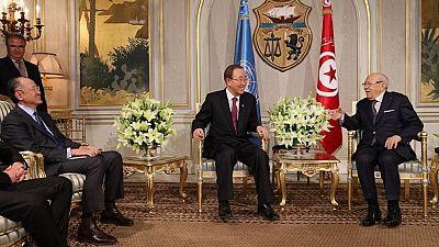 Tunisie : terrorisme et emploi au cœur de la visite de Ban Ki-moon