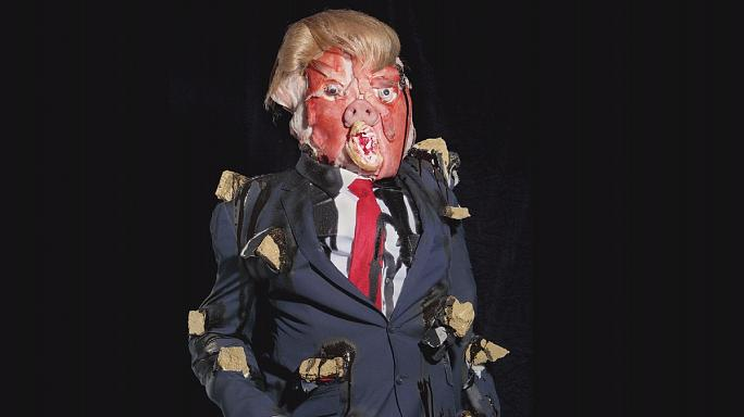 "Ostrer portraits of offal celebrities in ""Ego System"" show"