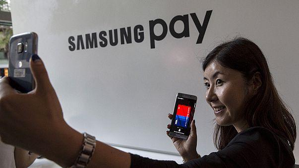 Samsung lança sistema de pagamento eletrónico na China