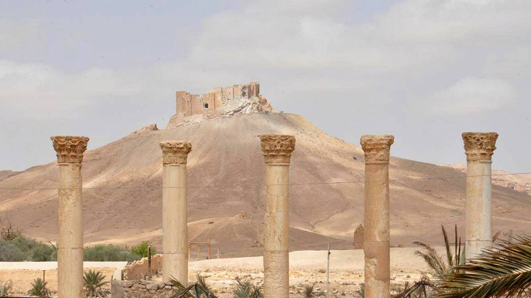Demining Palmyra - scores of bombs feared hidden in the historic city