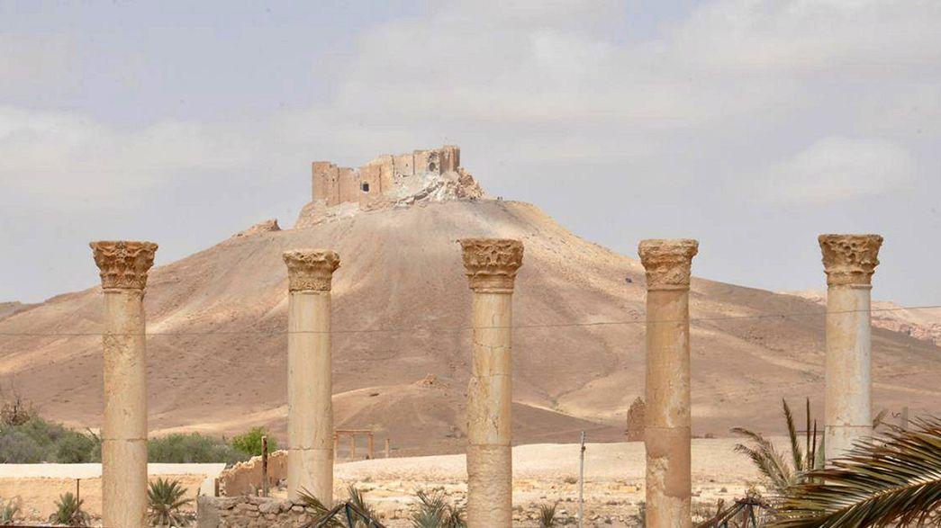 Zapadores sirios y rusos comienzan a limpiar de minas el centro de Palmira