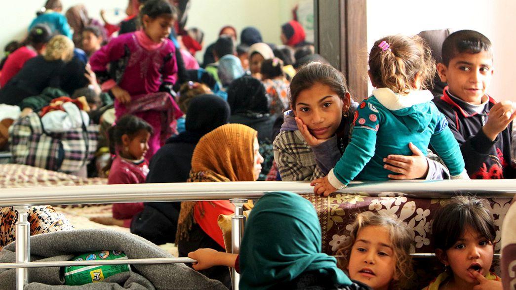 """Mosul, fuga da Isil: """"Era un inferno"""""""