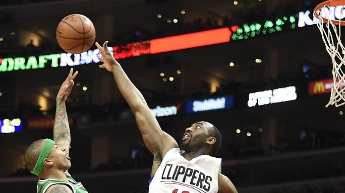 Clippers romp to victory over Boston in LA