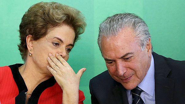 Brésil : le parti centriste quitte la coalition de la présidente Rousseff