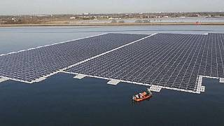 Solar panels take to the water as new farms flourish