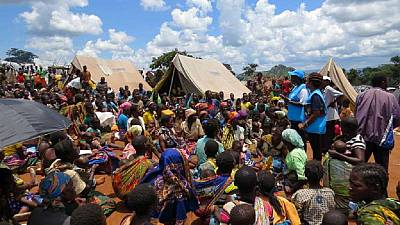 Hundreds of Mozambicans cross over to Malawi to avoid violence