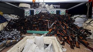 French navy seizes cache of weapons heading towards Somalia
