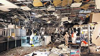 Bombalı saldırıya hedef olan Brüksel havalimanı açılış için henüz hazır değil