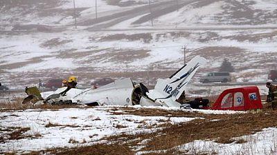 7 muertos en el siniestro de un avión en Quebec por el mal tiempo
