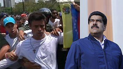 Maduro diz não a lei de amnistia para presos políticos