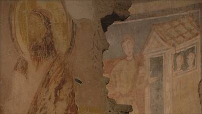 """Sistine chapel"" of Medieval Christian art opens in Rome"