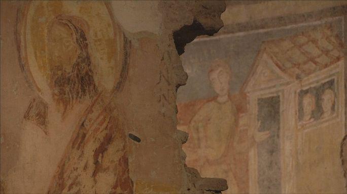 Santa Maria Antiqua Bazilikası ziyarete açıldı