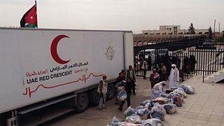 ليبيا: جسر جوي من الامارات ومارثون للسلام في بنغازي