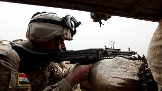 Exclusive: Battling ISIL and their chemical weapons on the frontline in Iraq