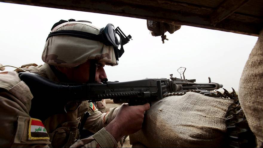 """Ирак: """"Евроньюс"""" посетил позиции """"глядящих в лицо смерти"""""""