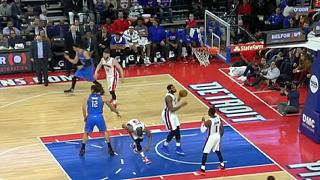 Basket: Nba, vittoria dei Pistons contro i Thunder privi di Durant e Ibaka