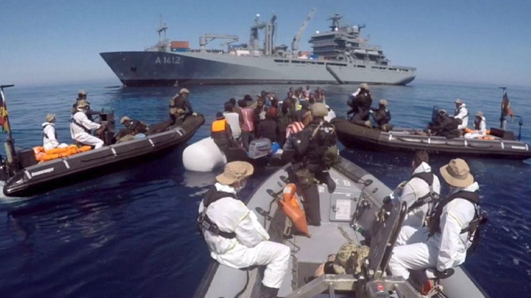 Rasant steigende Flüchtlingsankünfte in Griechenland und Italien vor Rückführungsdeal mit der Türkei