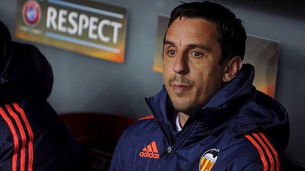 Gary Neville esonerato dal Valencia dopo quattro mesi da tecnico