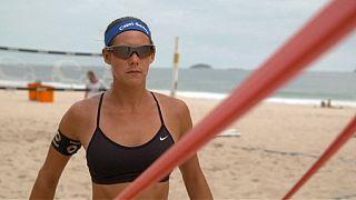 Чемпионки Европы по пляжному волейболу уже тренируются в Рио