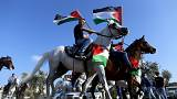Palestinians and Arab Israelis mark 40th anniversary of 'Land Day'