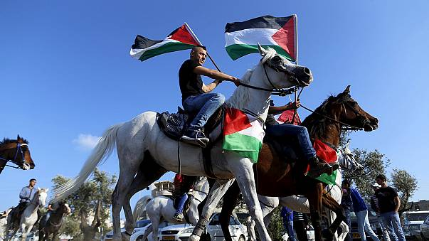 """Палестинцы и арабы Израиля отметили 40-й """"День земли"""""""