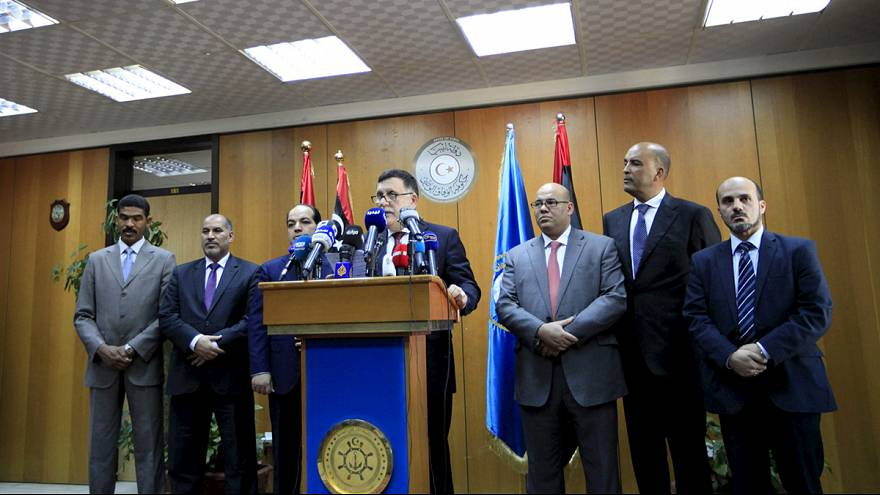 Libya's unity government arrives in Tripoli despite blockade