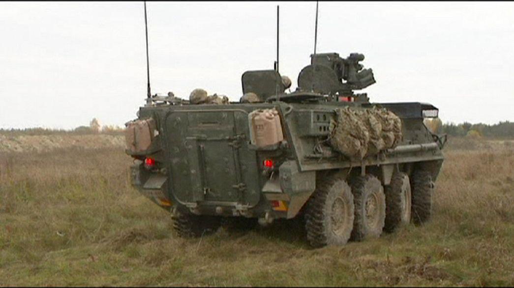 Estados Unidos reforçam presença militar junto às fronteiras europeias com a Rússia