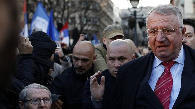 Serbian nationalist Seselj acquitted of war crimes and crimes against humanity