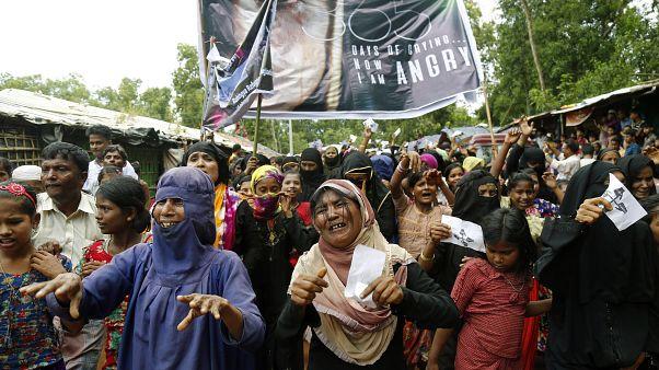 Image: One-year Anniversary of Rohingya refugee crisis
