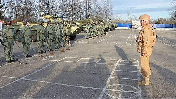 Ρωσία: Στρατιώτες εκπαιδεύονται για αποναρκοθέτηση