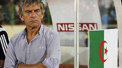 Algeria's coach Christian Gourcuff resigns
