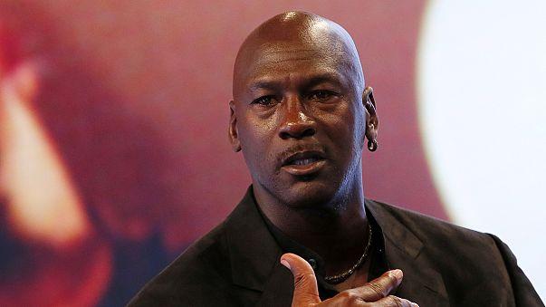 US-Basketballer Michael Jordan: Größter (1,98 Meter) und bestverdienender (fast 100 Millionen Euro) Sportrentner