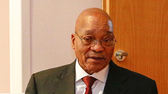 Une procédure de destitution lancée contre Jacob Zuma pour violation de la Constitution