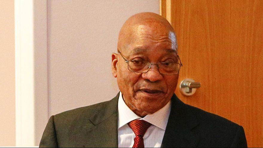 قضاء جنوب افريقيا يقر بانتهاك الرئيس زوما للدستور