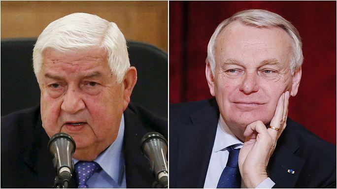 """وزيرا الخارجية الفرنسي والسوري في الجزائر بنفس التوقيت ...ما سر هذه """"الصدفة""""؟"""