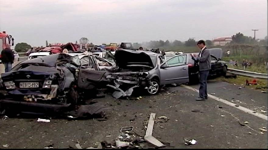 Road deaths in Spain, Portugal and Greece down sharply