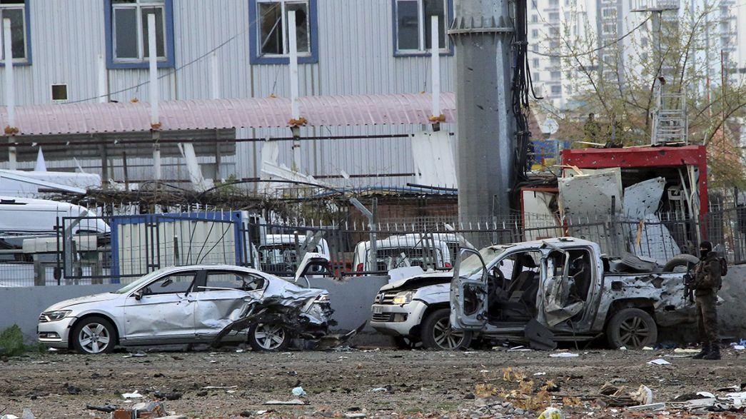 Erdogan confirma 7 muertos en el atentado de Diyarbakir