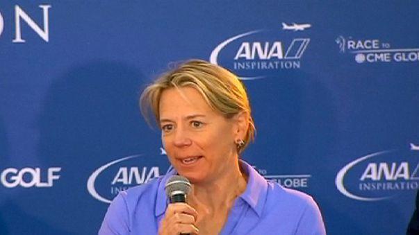 Golf: Solheim Cup'ta Avrupa'nın kaptanı Annika Sorenstam olacak