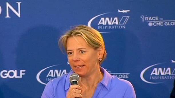 Sorenstam named Europe's captain for 2017 Solheim Cup