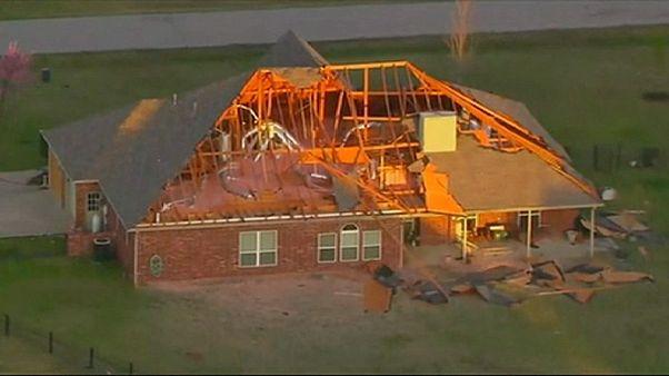 Schwere Tornados über Oklahoma