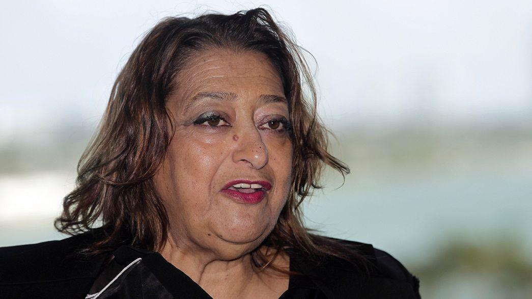 Décès de l'architecte anglo-irakienne Zaha Hadid