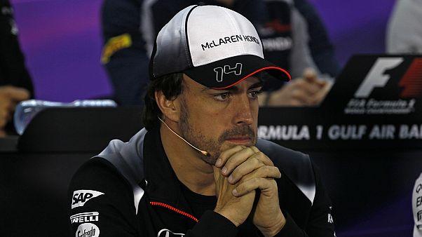 آلونسو مسابقات فرمول یک جایزه بزرگ بحرین را از دست داد