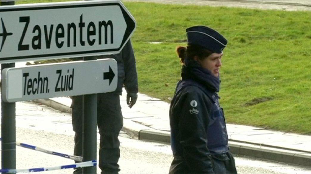 Greve da polícia ameaça atrasar reabertura do aeroporto de Bruxelas