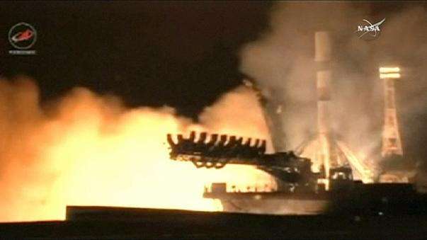 Progress 63 supply ship heads for International Space Station